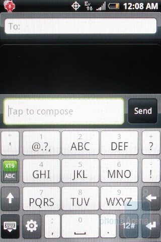 The HTC Hero CDMA has the same three keyboards as on the original - HTC Hero CDMA Review
