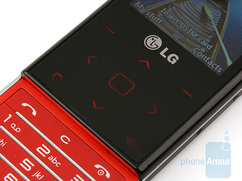 The buttons of the LG New Chocolate BL20 - LG New Chocolate BL20 Review