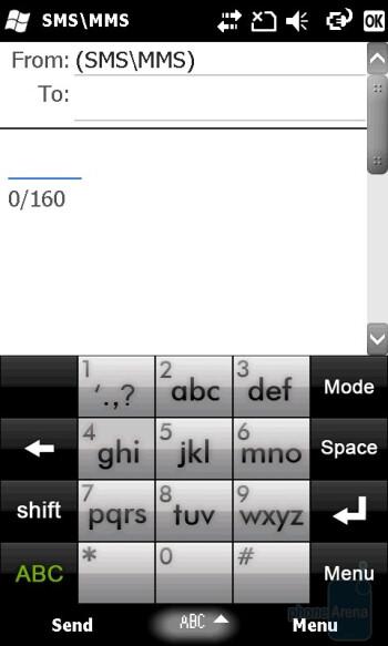 The standard keyboard - GIGA-BYTE GSmart S1200 Review