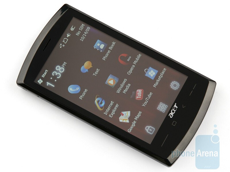 Front - Acer neoTouch S200 Review