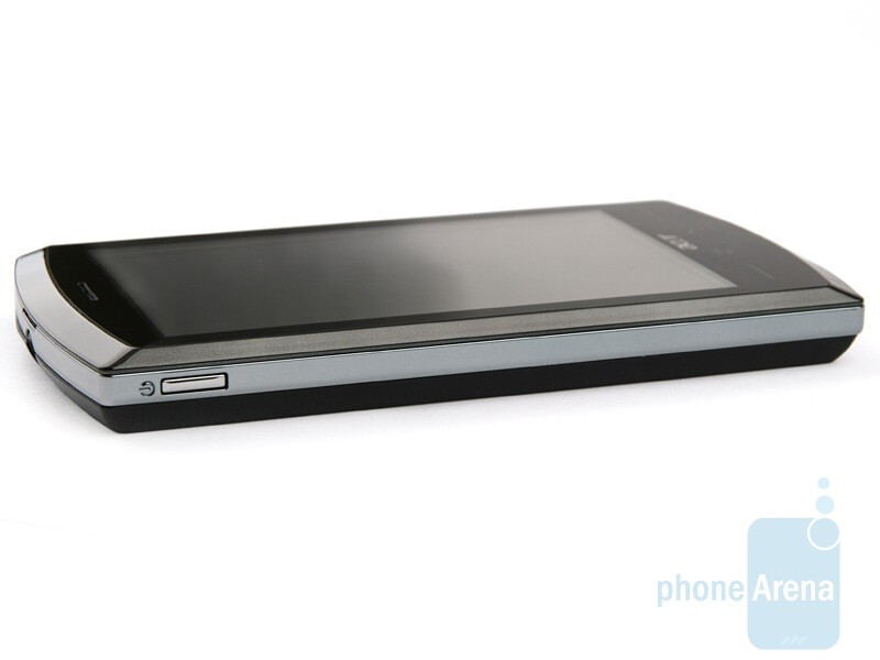 Left hand side - Acer neoTouch S200 Review