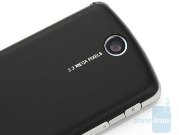 The camera of the Acer beTouch E200 - Acer beTouch E200 Review