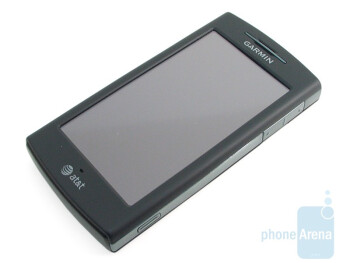 "The 3.55"" resistive LCD screen of the Garmin nuvifone G60 - Garmin nuvifone G60 Review"