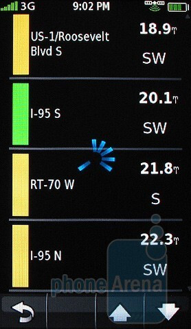 Garmin nuvifone G60 GPS Interface - Garmin nuvifone G60 Review