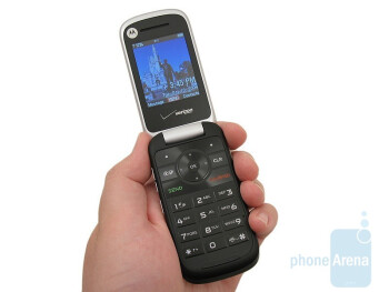 The overall appearance of the Entice W766 is that it is more streamlined than its predecessor - Motorola Entice W766 Review