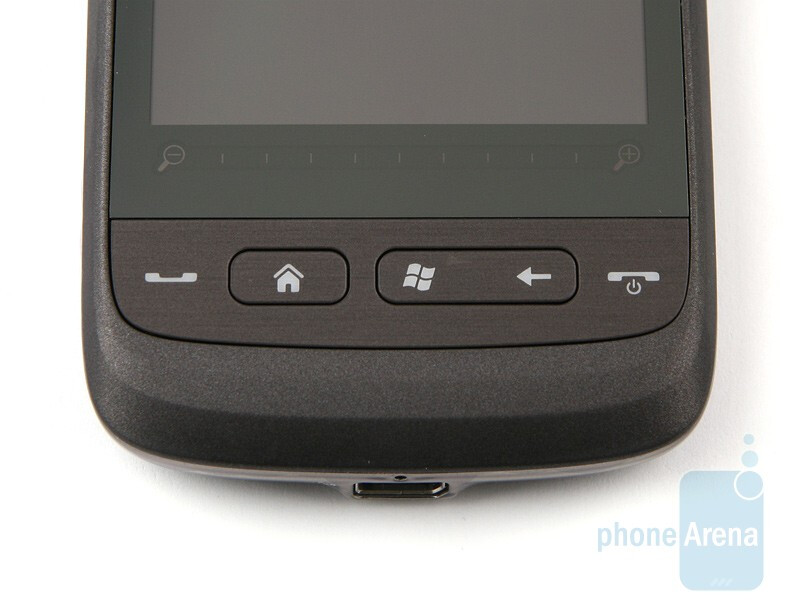 The hardware buttons of the HTC Touch2didn`t give us any trobles - HTC Touch2 Review