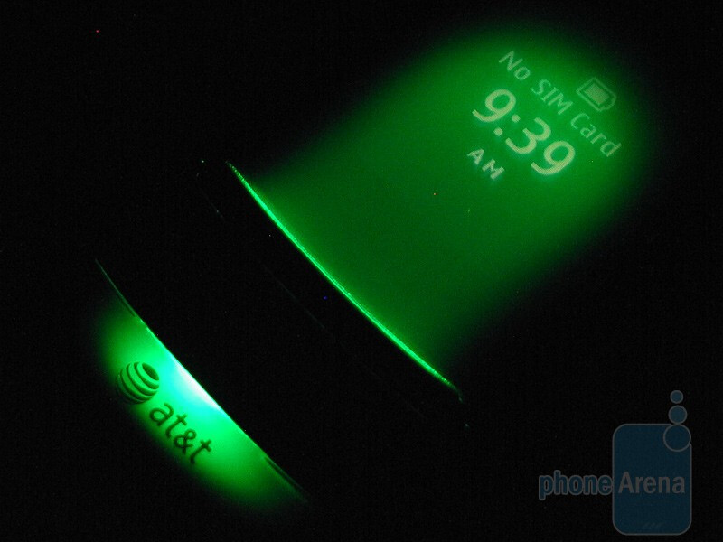 There's a nice glow emitted by the phone whenever someone is calling - Nokia 6750 Mural Review