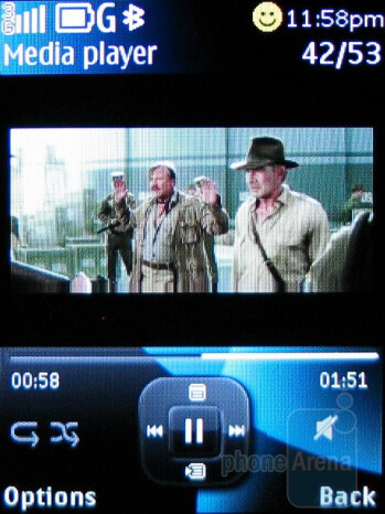 Video playback - Nokia 6750 Mural Review