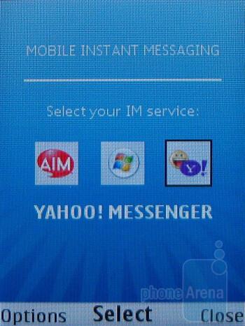 Messaging capabilities of the Nokia 6750 Mural - Nokia 6750 Mural Review