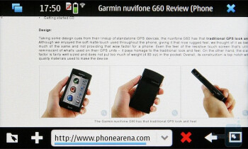 The Nokia N900 is equipped with Maemo browser based on the Mozilla technology - Nokia N900 Preview