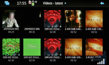 The Nokia N900 supports Xvid and plays DivX videos without a hitch - Nokia N900 Preview