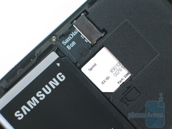 The back of the Samsung Intrepid  i350 - Samsung Intrepid i350 Review