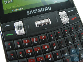 The Intrepid has standard navigation cluster - Samsung Intrepid i350 Review