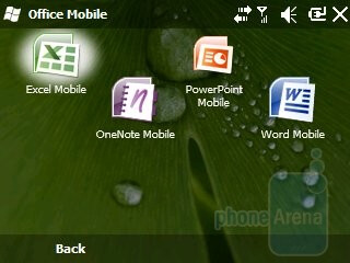 Widgets and Office Mobile - Samsung Intrepid i350 Review