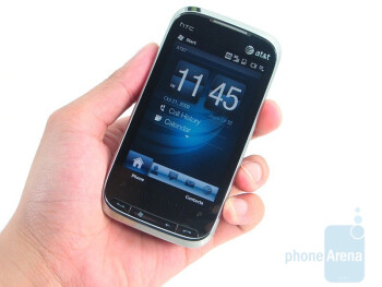 The HTC Tilt 2 retains the style and look of the original GSM version - HTC Tilt 2 Review