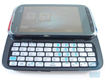 The HTC Tilt 2 has an excellent keyboard layout and feel - HTC Tilt 2 Review