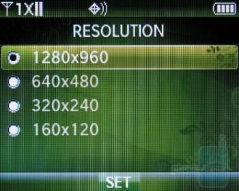 The Verizon Wireless Razzle sports a 1.3MP camera - Verizon Wireless Razzle Review