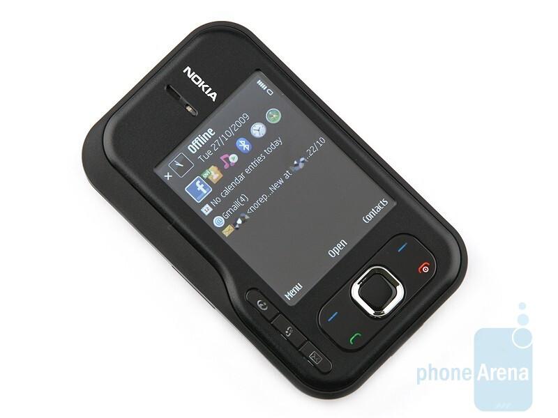 Nokia 6760 slide, вид раскрытого телефона