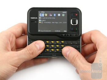 The Nokia 6760 slide is probably the smallest device with such a form factor - Nokia 6760 slide Review