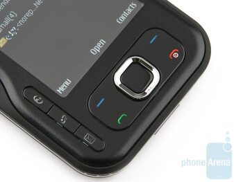 All buttons of the Nokia 6760 slide are handy - Nokia 6760 slide Review