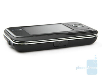 Left side - Nokia 6760 slide Review
