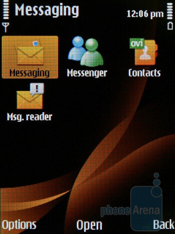 The phone comes with automated emailsetup for popular service providers - Nokia 6760 slide Review