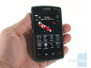 Visually, there isn't a lot of difference between the 9530 and the newer RIM BlackBerry Storm2 9550 - RIM BlackBerry Storm2 9550 Review