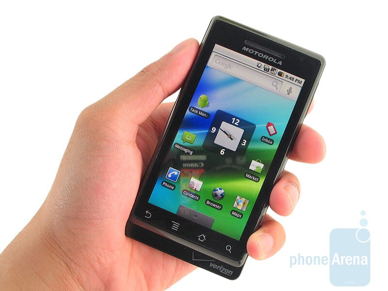 Motorola DROID is one of the thinnest sliding landscape QWERTY devices available on the market - Motorola DROID Review