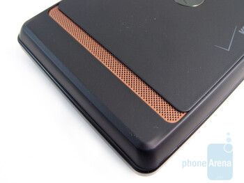 The back side - Motorola DROID Review