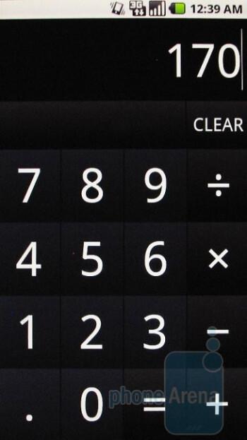 Calculator - Motorola DROID Review