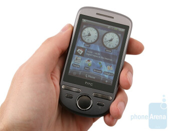 The HTC Tattoo is a compact smartphone - HTC Tattoo Review