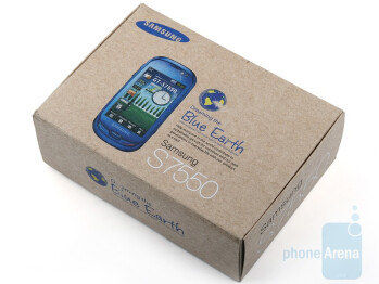 The mystical blue color of the Samsung Blue Earth S7550 face makes it stand out from the crowd - Samsung Blue Earth S7550 Review