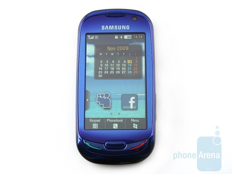 The Blue Earth sports a very sensitive 3-inch capacitive touchscreen display - Samsung Blue Earth S7550 Review