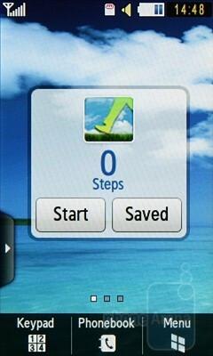 The Samsung Blue Earth S7550 runs the latest edition TouchWiz interface - Samsung Blue Earth S7550 Review