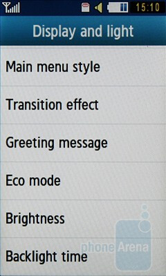 Eco mode you to save energy and extend the battery life of the Samsung Blue Earth S7550 - Samsung Blue Earth S7550 Review