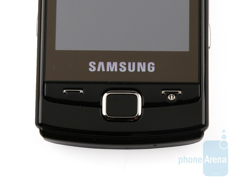 Hardware buttons - Samsung OmniaLITE B7300 Review
