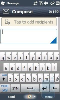 Messaging app - Samsung OmniaLITE B7300 Review
