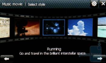 Video Editor - Samsung OmniaLITE B7300 Review