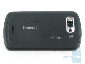 Back - Samsung Moment Review