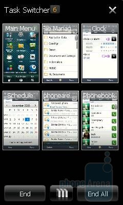 Task Manager - Samsung OmniaLITE B7300 Review
