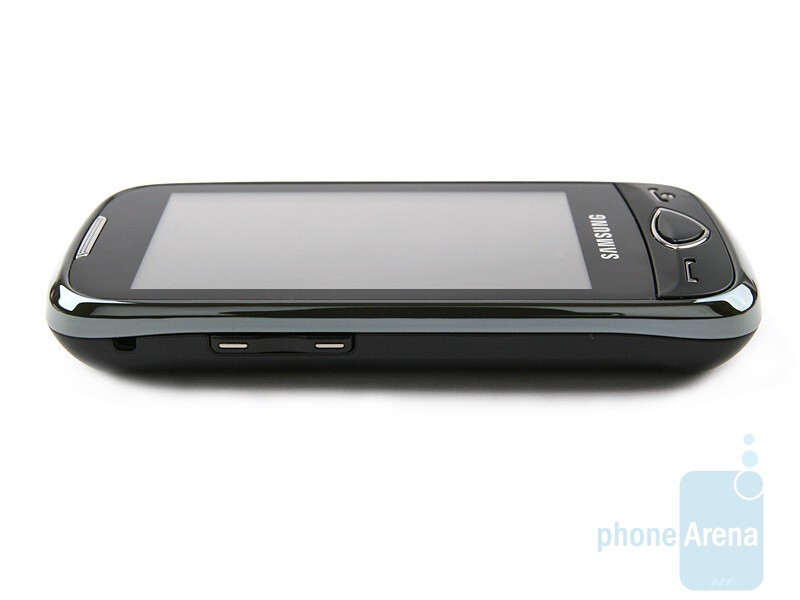 Left side - Samsung S5560 Review