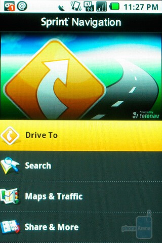 Sprint Navigation - Samsung Moment Review
