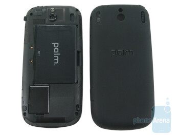 Back with removed cover - Palm Pixi Review