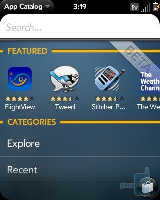 Palm's App Catalog is growing rapidly - Palm Pixi Review