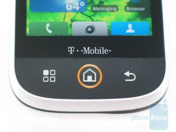 The hardware keys - Motorola CLIQ Review