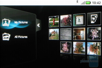 The picture galery - Motorola CLIQ Review