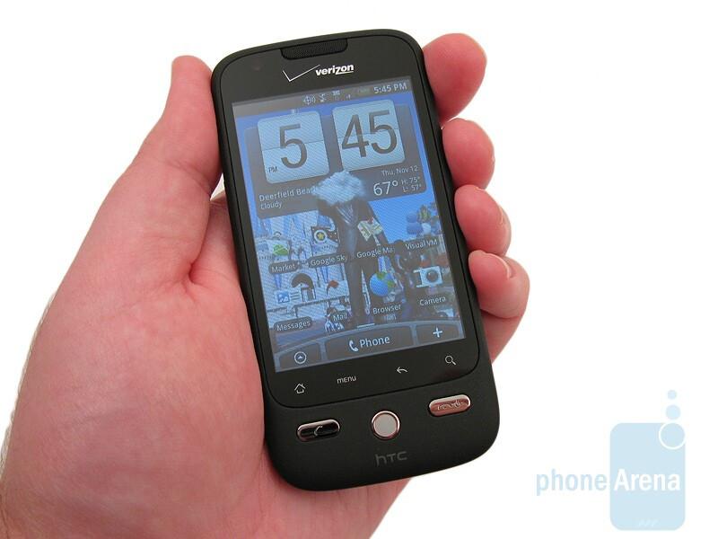 htc droid eris review rh phonearena com HTC Droid Eris Screen Replacement Motorola Droid Eris