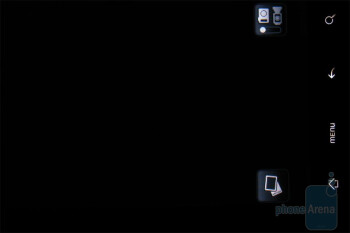 The camera interface of HTC DROID ERIS - HTC DROID ERIS Review