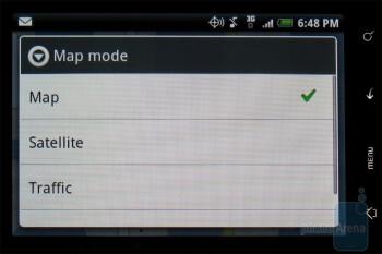 Google Maps - HTC DROID ERIS Review