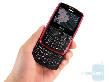 The Pantech Reveal C790 has a sliding portrait QWERTY design - Pantech Reveal C790 Review